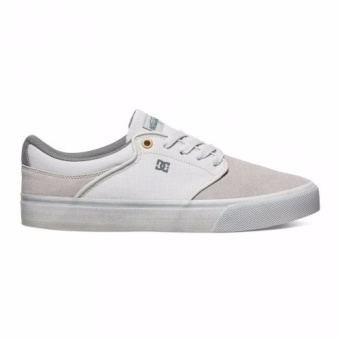DC Men's Mikey Taylor Vulcanized Low Cut (Light Grey)