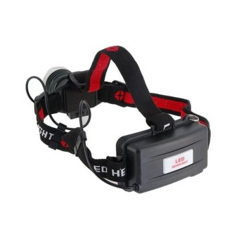 DHS CL 2636 3 Modes CREE T6 160 LM LED Head Lamp (Black) (Intl) - picture 2