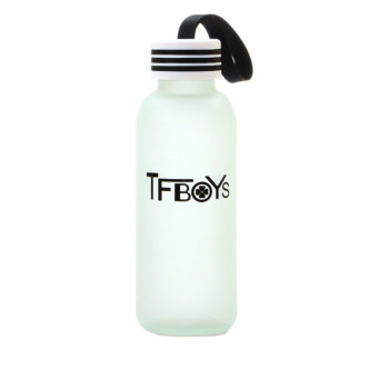 DHS TFBOYS Frosted Glass Cup 430ml (Intl)
