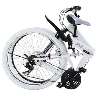 Doppelganger 713 Roadblock Folding Bike (White) - 2