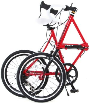 Doppelganger FX13 Fledermaus Folding Bicycle (Red) - picture 2