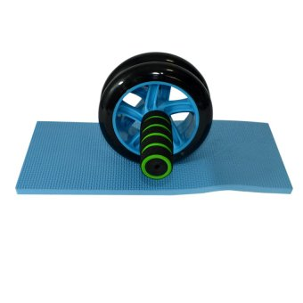 Dual Ab Wheel for Abdominal Roller Workout Exerciser - picture 2