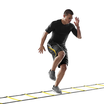 Durable 5 rung 10 Feet 3m Agility Ladder for Soccer Speed Training - 5