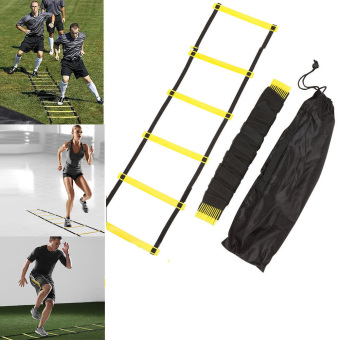 Durable 5 rung 10 Feet 3m Agility Ladder for Soccer Speed Training - 4