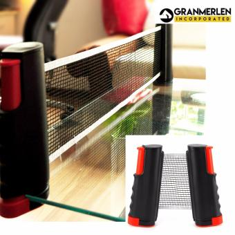 Easy Set Up and Super Deluxe Table Tennis Net Rack Replacement PingPong Net (Black) - 3