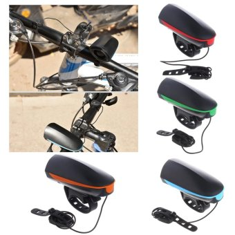 Electronic Bike Bell Ring 110db Cycling Bicycle Horn Speaker BikeLights outdoor