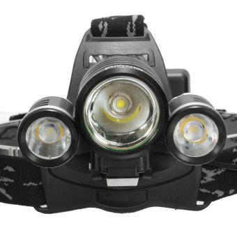 Elfeland 10000LM 3x XM-L2 LED T6 18650 Headlamp Headlight Head Torch Lamp - 4
