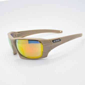 ESS ROLLBAR on the tactical goggles cycling sunglasses protectthemselves from blowing sand night vision Beige color - intl - 2