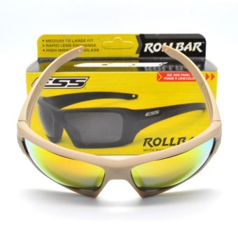 ESS ROLLBAR on the tactical goggles cycling sunglasses protectthemselves from blowing sand night vision Beige color - intl - 3
