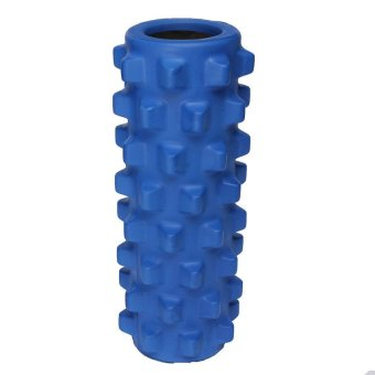 EVA Grid Foam Massage Roller Yoga Pilates Fitness Physiotherapy Rehabilitation (Light Blue) (Intl) - picture 2