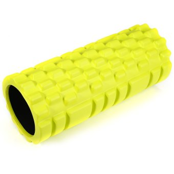EVA Yoga Foam Roller Fitness Floating Point for Physio Massage Pilates Yellow (Intl)