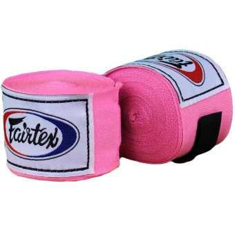 Fairtex Elastic Cotton Hand Wrap (Pink)