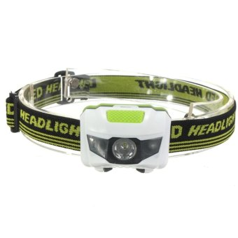 FFY Super Bright Mini Headlamp HFFY Super Bright 4 Modes 2 LED Red Light SOS Waterproof Camping Hiking Headlight Flashlight Head Lamp fishing Light Whiteeadlight Flashlight Torch Lamp 4 Models Head Lamp fishing Light - intl