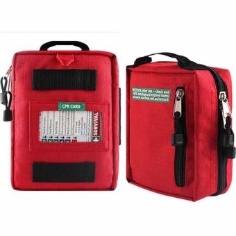 First Aid Kits Survival Gear Medical Trauma Kit Rescue Bag Kit Car Bag Emergency Kits - intl - 2