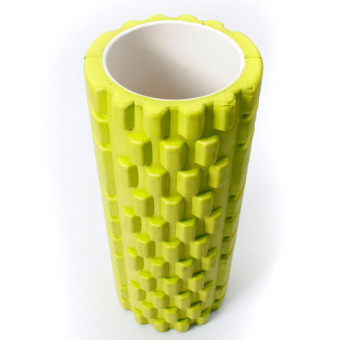Fitness Direct Foam Roller Trigger Point Textured Massage Yoga Grid Yellow - Intl - picture 2