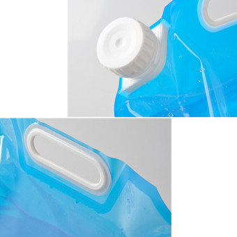 Foldable Camping PE Water Storage Container Carrier 5L (Intl) - picture 2