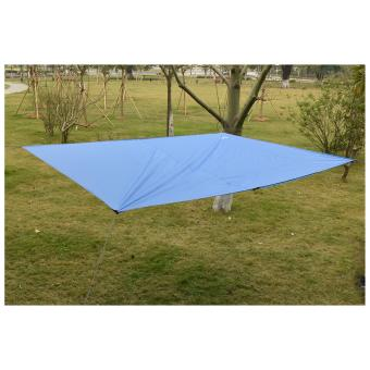 Geertop Lightweight Camping Backpacking Hiking Waterproof Tent TarpGeound Sheet Footprint Camping Mat Rain Fly Hammock Shelter withGuy Lines and Pegs - 3