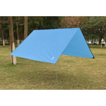 Geertop Lightweight Camping Backpacking Hiking Waterproof Tent TarpGeound Sheet Footprint Camping Mat Rain Fly Hammock Shelter withGuy Lines and Pegs - 2