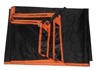 GEERTOP Tent Ground Sheet - 2 Persons 210 x 145 cm UltralightWaterproof Mat Groundsheet Tarp, For Camping Hiking Picnic (4sizes). - 3