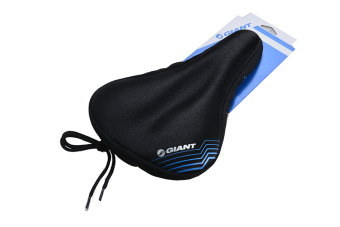 Giant Cycling Bike Silicone Gel Pad Seat Saddle Cover Soft CushionBlack New - intl