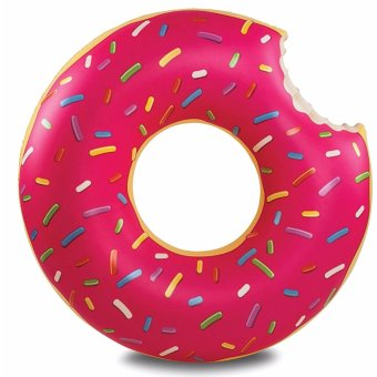 Giant Inflatable Donut Pool Floties (120cm)