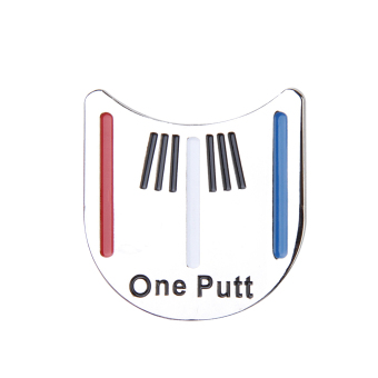 Golf Alignment Tool with Hat Clip