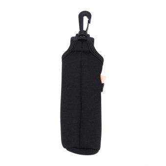 Golf Ball Bag Holder Utility Pouch Accessories With Clip (Black) -intl - 5