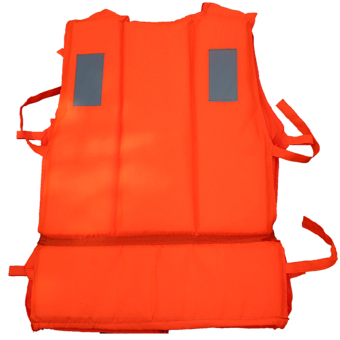 Gracefulvara Adults Life Jacket Vest Sea Rescue Suit (Orange) - intl - picture 2