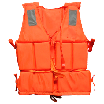 Gracefulvara Adults Life Jacket Vest Sea Rescue Suit (Orange) - intl
