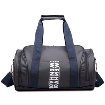 Gym Bag With Separate Space For Keeping Shoes Unisex Sport Bags -intl