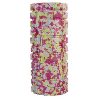 Gym Exercise Fitness Floating Point EVA Yoga Foam Roller Physio Massage Pilates Pink - picture 2