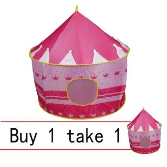 H801 Kids Castle Tent (Pink) Buy 1 Take 1 Price Philippines