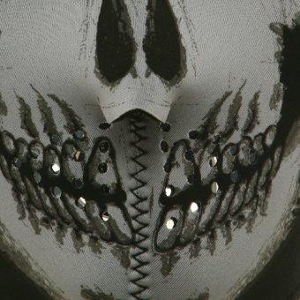 Half Face Skull Design Mask Protector #0254 - 3