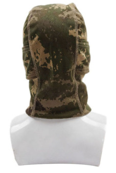 Hang-Qiao Full Face Camouflage Mask (Green) - picture 2