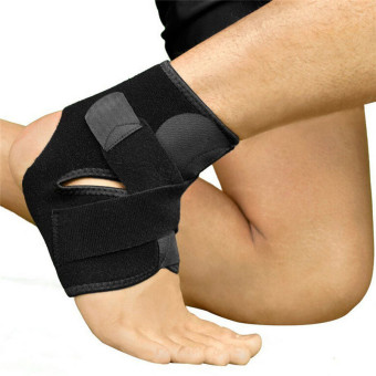 Hanyu Adjustable Sports Fashion Protective Sprained Ankle Compression Support Wrap Brace - Intl