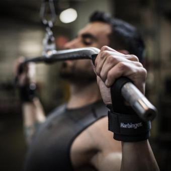 Harbinger Big Grip No-Slip Nylon Lifting Straps with DuraGrip(Pair) Original - 2