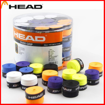 Head badminton racket slip handle leather tennis racket bandage cloth hand gel