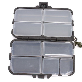Hengsong Fishing Tackle Box Black - picture 2
