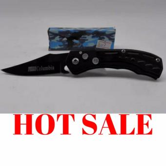 High Quality Folding Sheath Knife Serrated high carbon stainlesssteel drop point blade Camping Essential