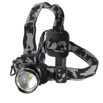 HKS 2000LM XM-L T6 LED Headlight Zoomable Flashlight - Intl