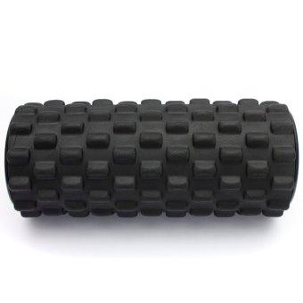 HKS 32x12cm EVA Grid Foam Roller Pilates Yoga Physio Gym Back Massage Orange Black - Intl - picture 4