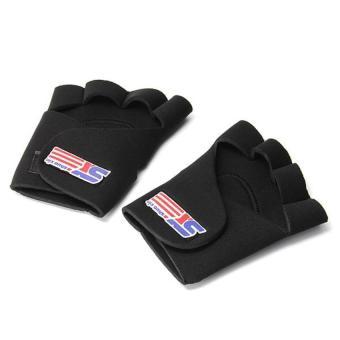 HKS Black Sports Hand Wrist Finger Elastic Brace Support Wrap One Size - Intl
