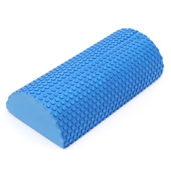 HKS EVA Yoga Half Round Foam Roller (Blue) (Intl)