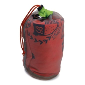 HKS Generic Ultra Light Mesh Stuff Sack Storage Bag for Tavel Camping Size L Outdoor Adventure - Intl - picture 3