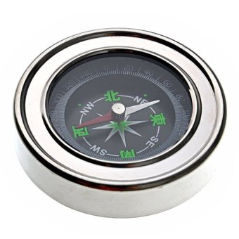 HKS Precision and Portable Stainless Steel Base Compass Outdoor Adventure - Intl