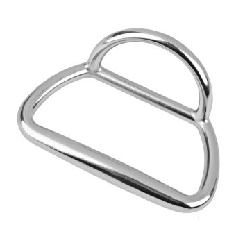 HKS S & F MagiDeal Stainless Steel Towing Ring for Fishing Boats Silver outdoor adventure - Intl