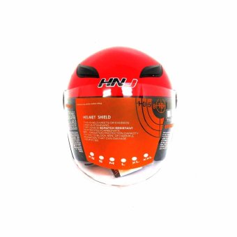 HNJ 619 Safe And Convenient Motorcycle Helmets (Red)