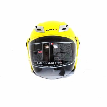 HNJ 881 Safe And Convenient Motorcycle Helmets (Yellow)