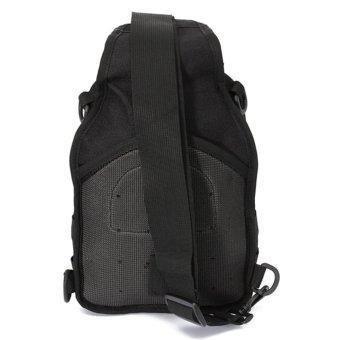 HUG #388 Shoulder Sling Bag Military Tactical Backpack (Black) - 3