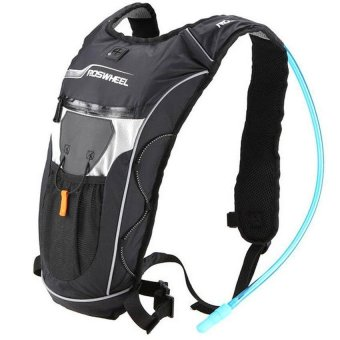 Bang 4L Cycling Bicycle Backpack + Hydration Shoulder Bag Hiking Waterbag(Black) - intl Price Philippines